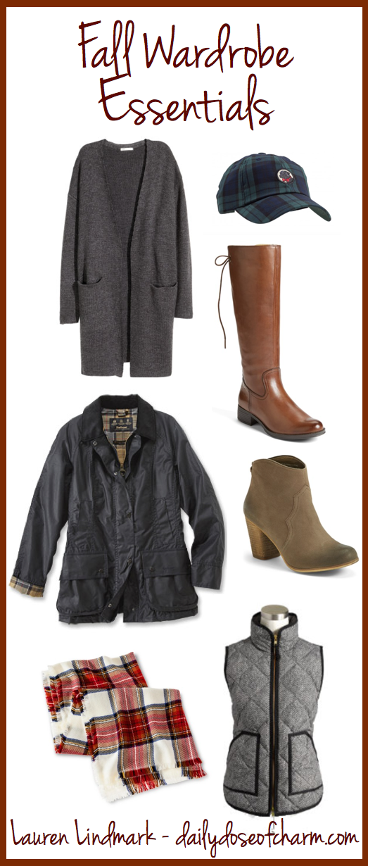 Fall Wardrobe Essentials | Daily Dose of Charm by Lauren Lindmark