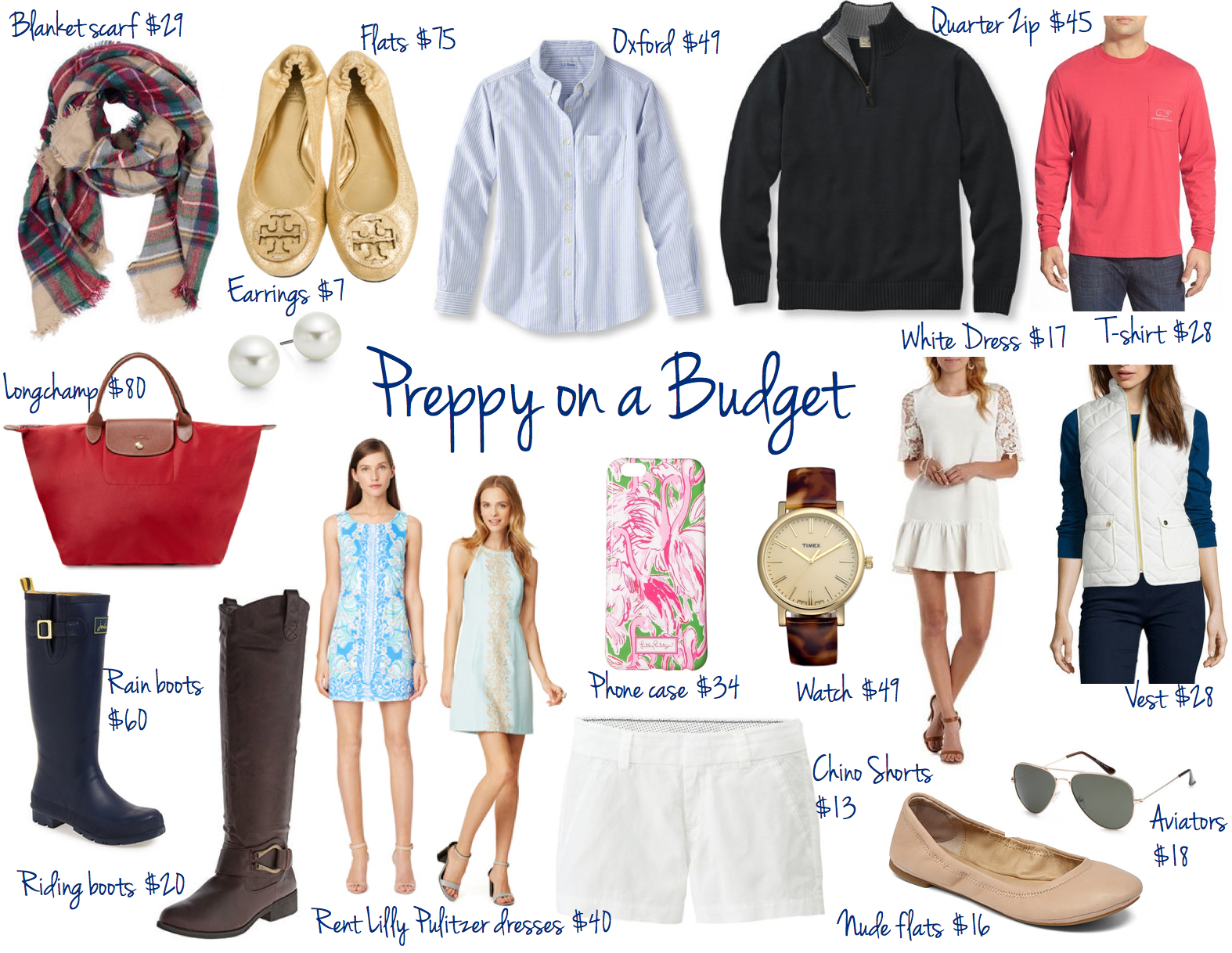 Preppy On a Budget | Where to Shop & What Pieces to Buy
