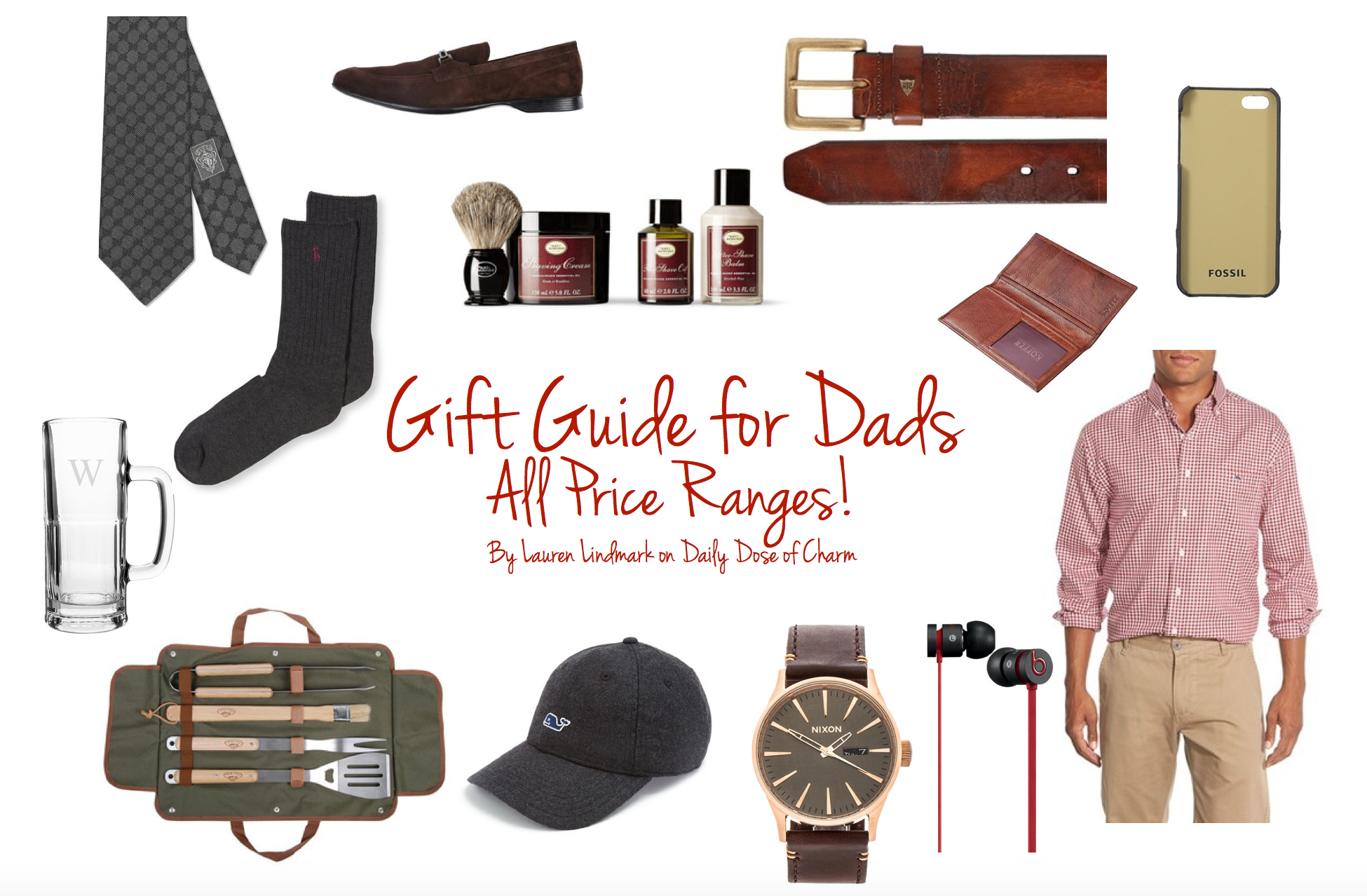 Gift Guide for Dads | Christmas Edition (Prices ranging from Free - $100+)