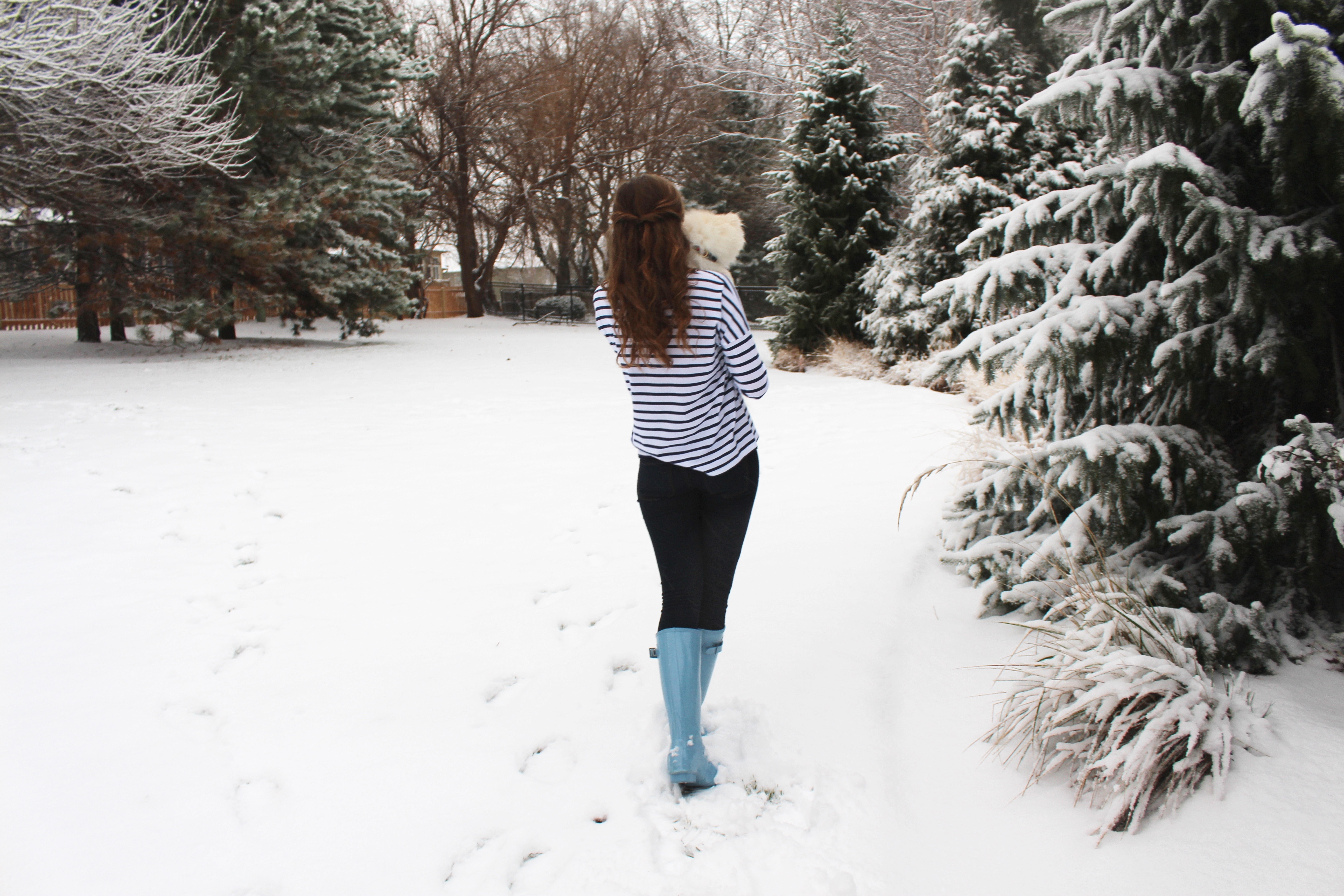 Walkin' in a Winter Wonderland | OOTD on Daily Dose of Charm by Lauren Lindmark