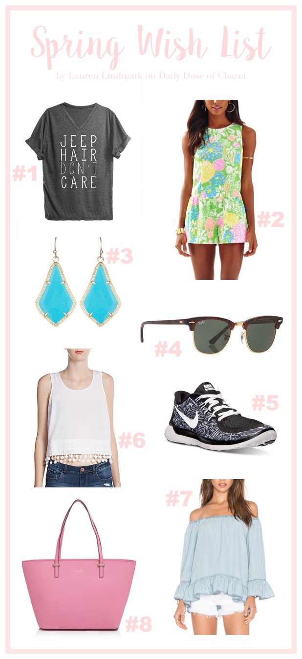My Spring Clothing Wish List + More on Daily Dose of Charm by Lauren Lindmark
