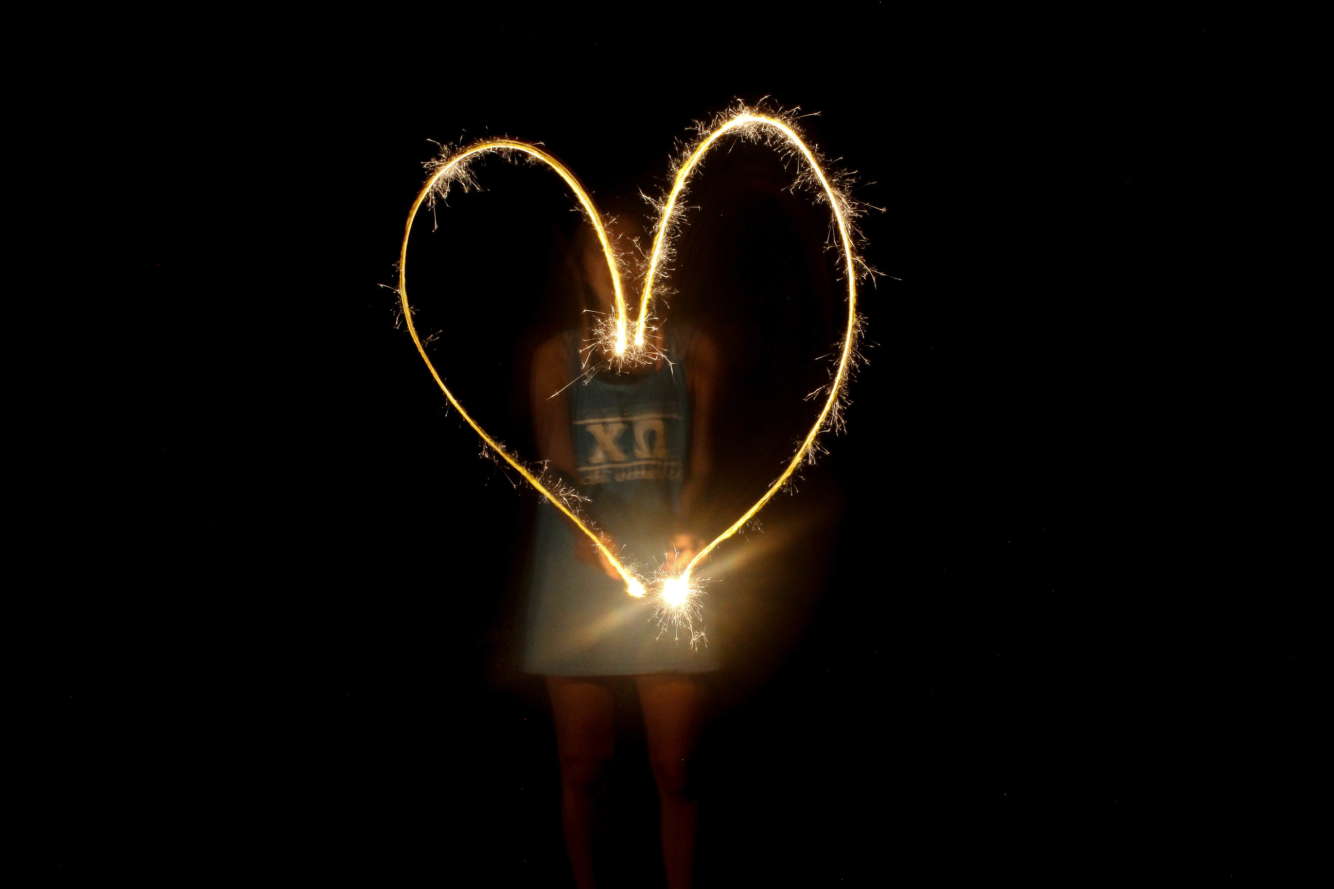 Fourth of July Recap, Write with sparklers, american girl by lauren lindmark on daily dose of charm