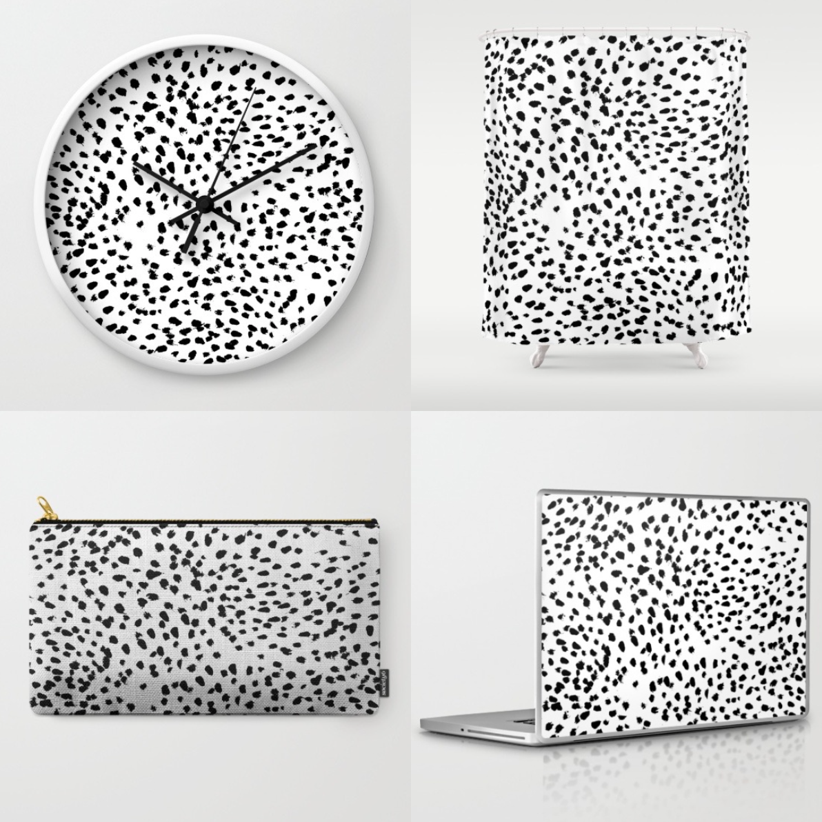 Dalmatian print obsession by Lauren Lindmark on Daily Dose of Charm
