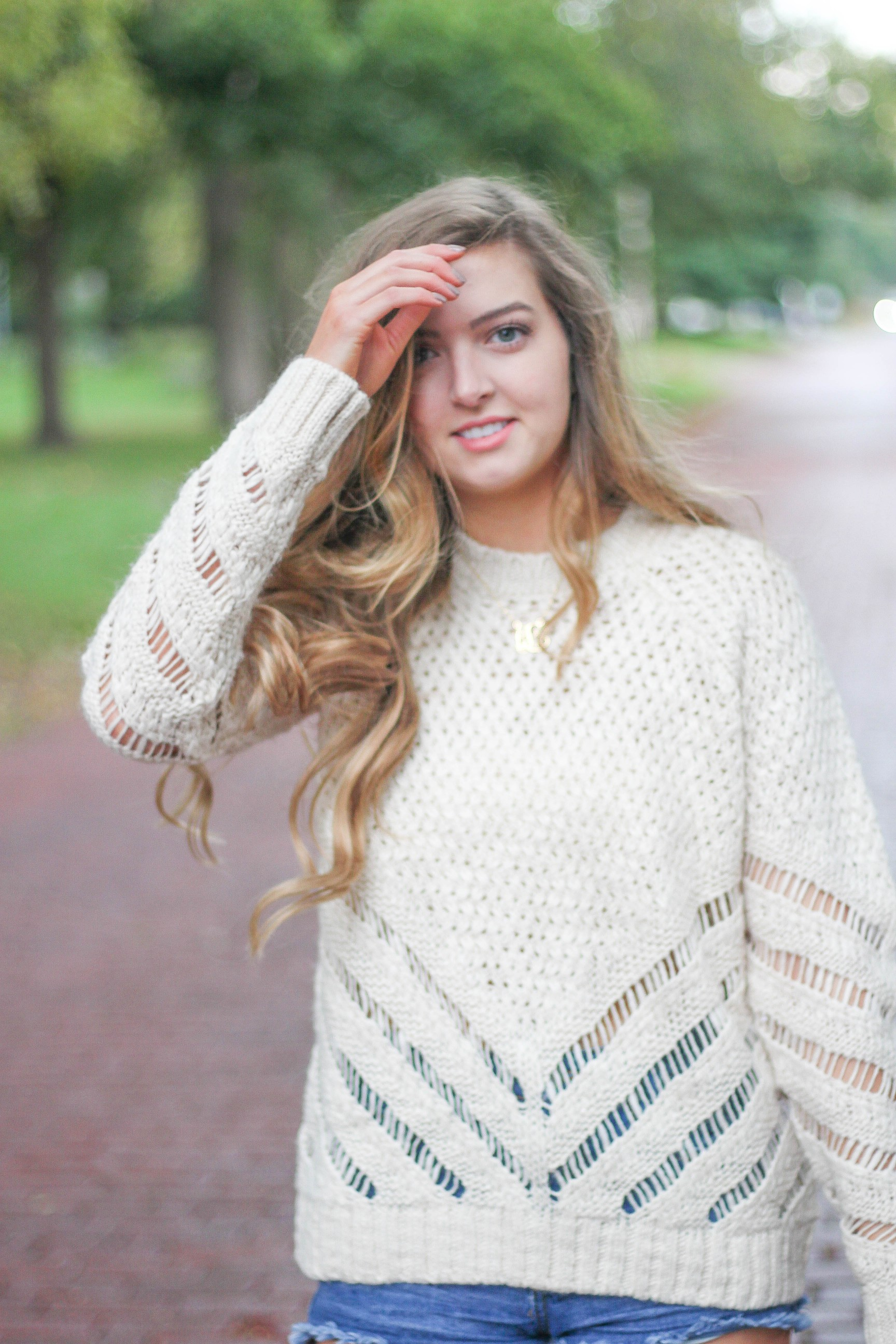 Rainy Days are the best days for SWEATERS!! by Lauren Lindmark on Daily Dose of Charm