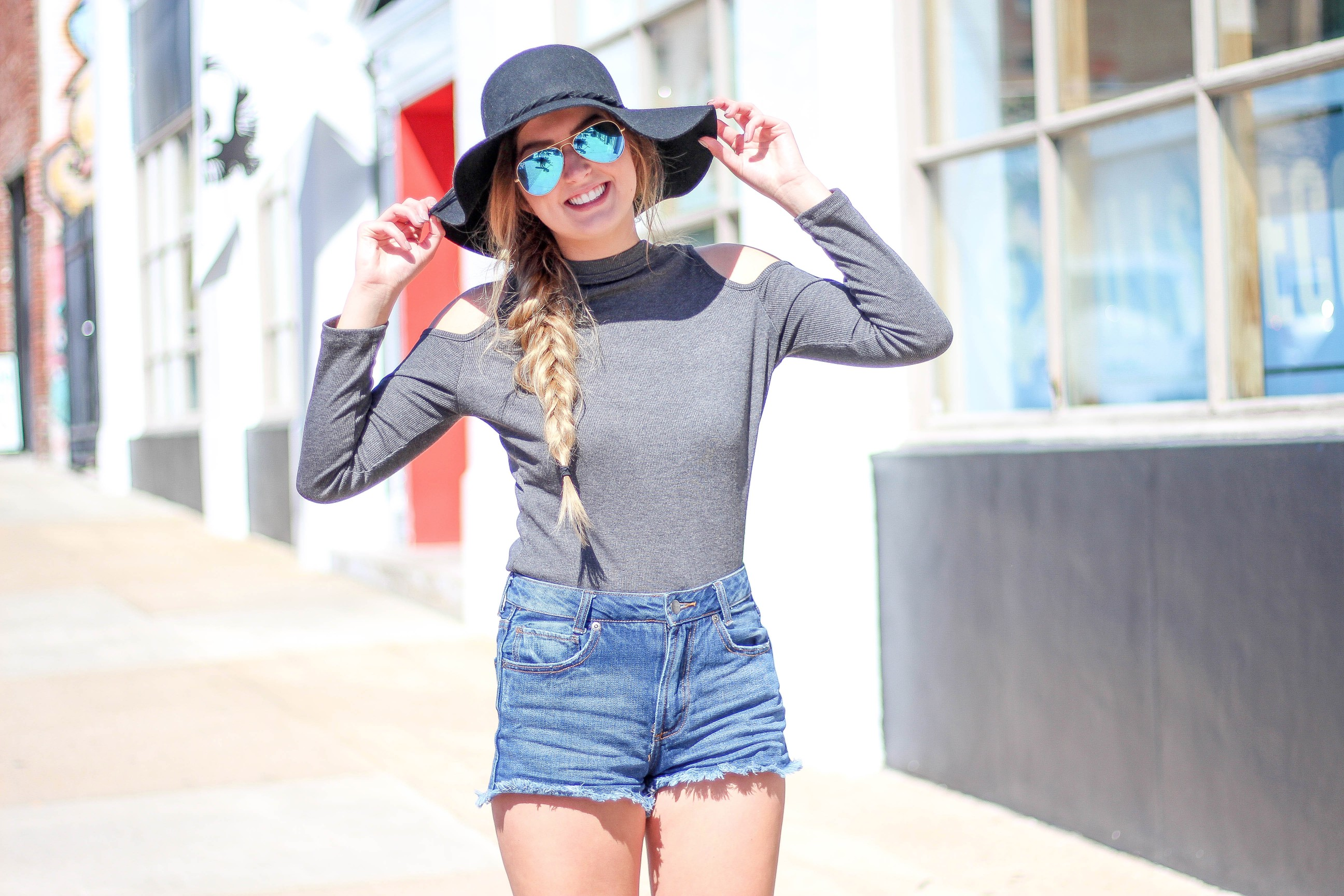Transitioning from Summer to Fall OOTD on Daily Dose of Charm by Lauren Lindmark