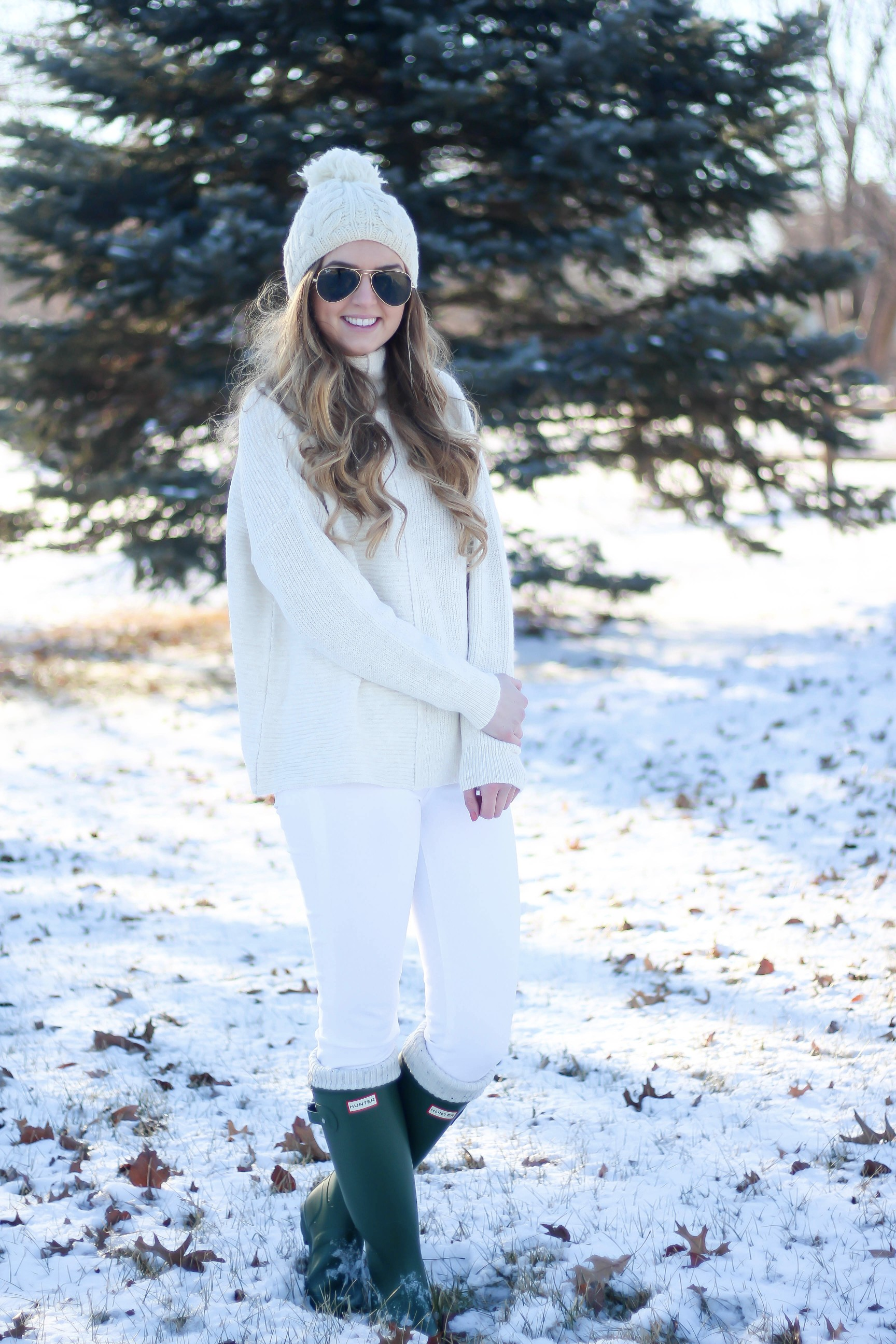 winter whites ootd daily dose of charm