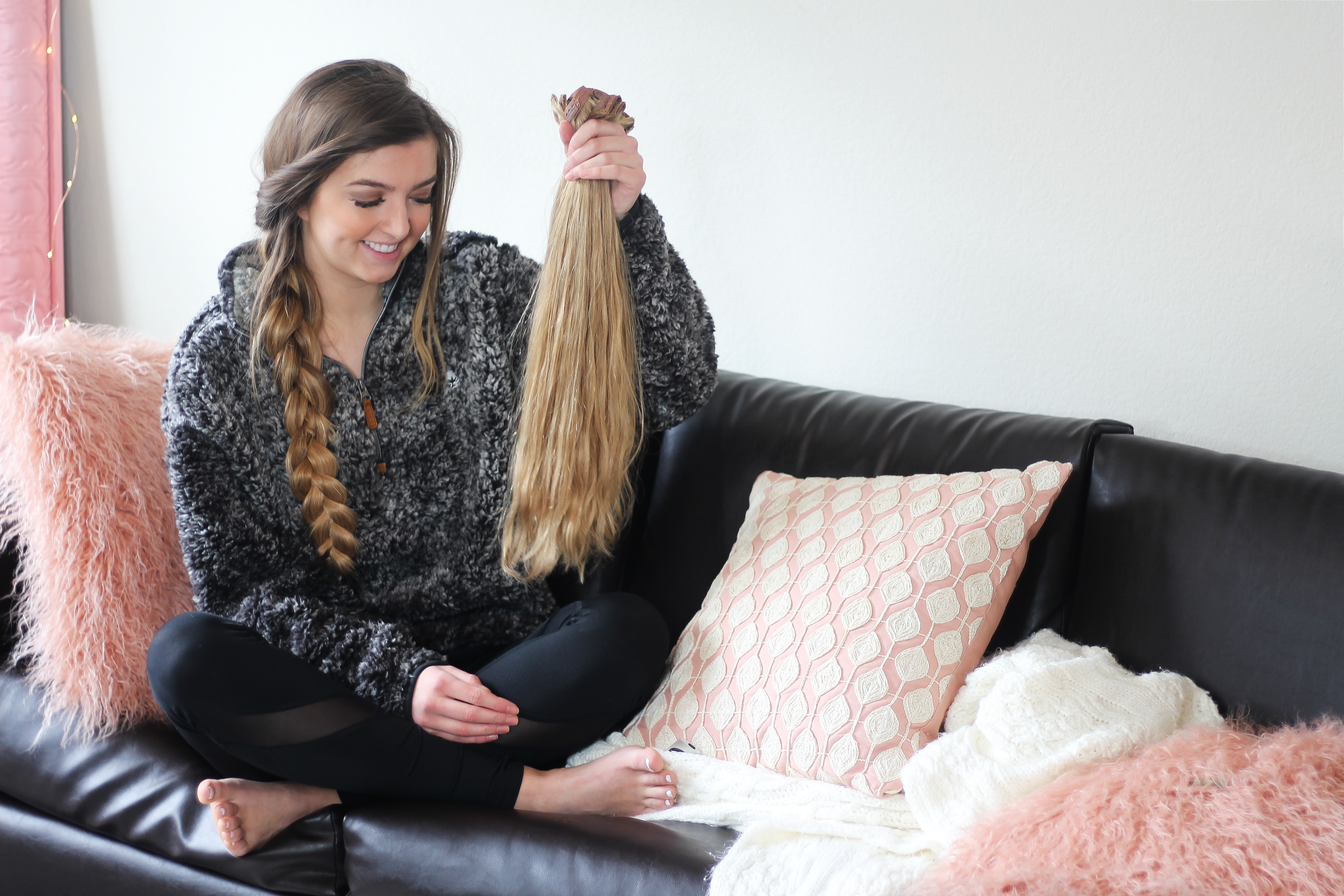 Clip In Hair Extensions Qa Video Daily Dose Of Charm