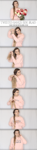TWISTED SIDE BRAID! Valentine's Day Hairstyles! Perfect hairstyles for Valentine's Day that are easy and no heat. I love finding cute hairstyles that are no heat hairstyles and easy to do! By Lauren Lindmark on Daily Dose of Charm dailydoseofcharm.com