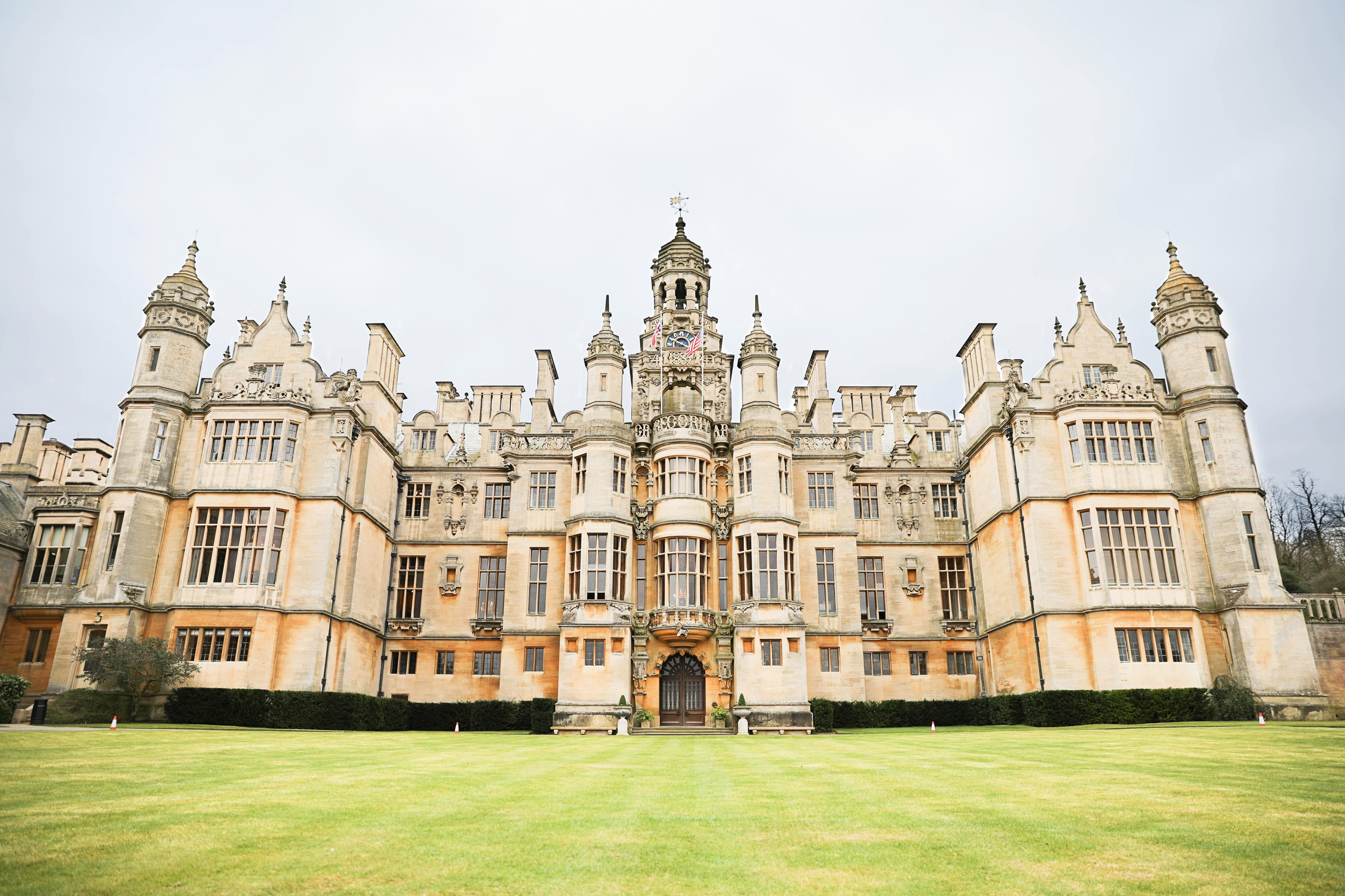 Harlaxton College in Grantham north of London! London castle you need to go visit! The prettiest castle I have ever seen! By Lauren Lindmark on dailydoseofcharm.com daily dose of charm