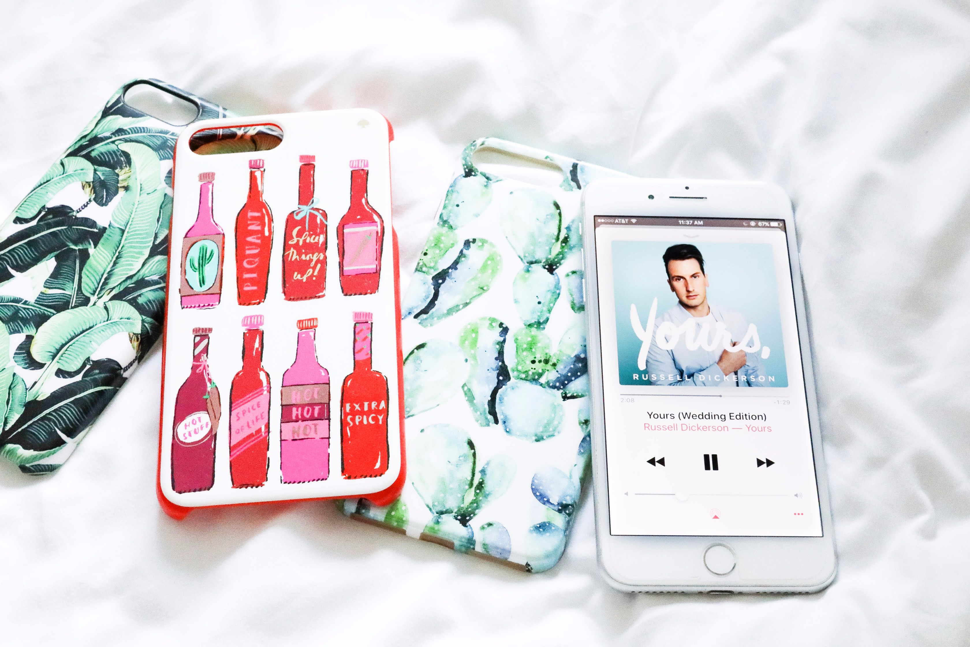 Phone cases and favorite song June favorites by fashion and lifestyle blogger lauren lindmark on daily dose of charm