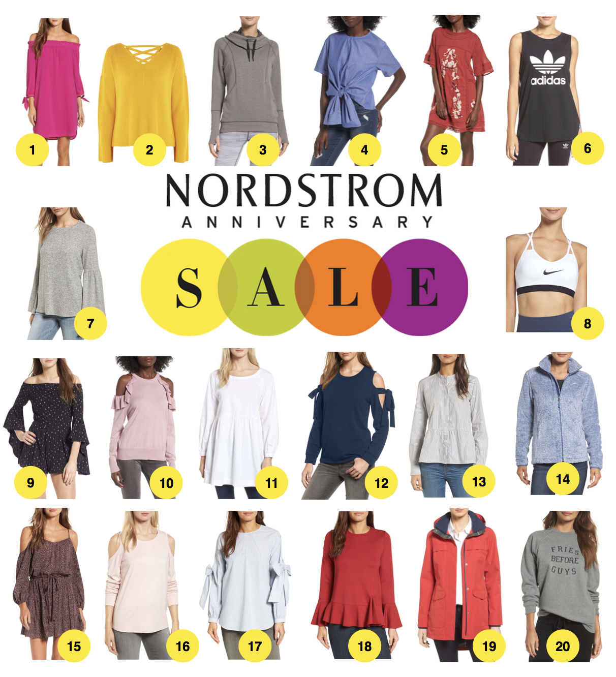 Nordstrom Anniversary Sale 2017 favorite tops, pants, dresses, shoes, accessories and beauty left early access. Shop my favorites on fashion blog daily dose of charm by lauren Lindmark