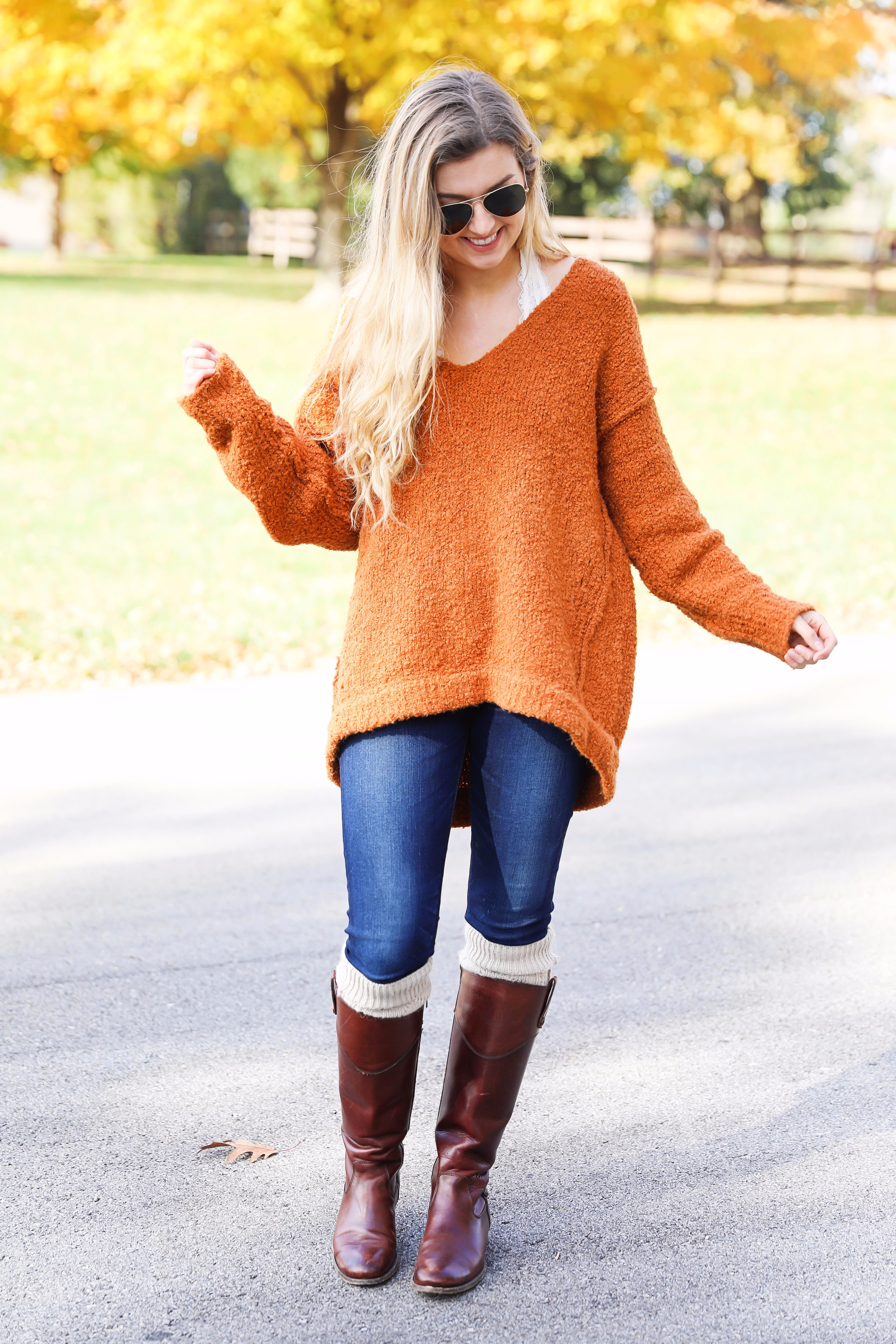 44152254c09 Thanksgiving Outfit Ideas on Fashion Blog Daily Dose of Charm by Lauren  Lindmark
