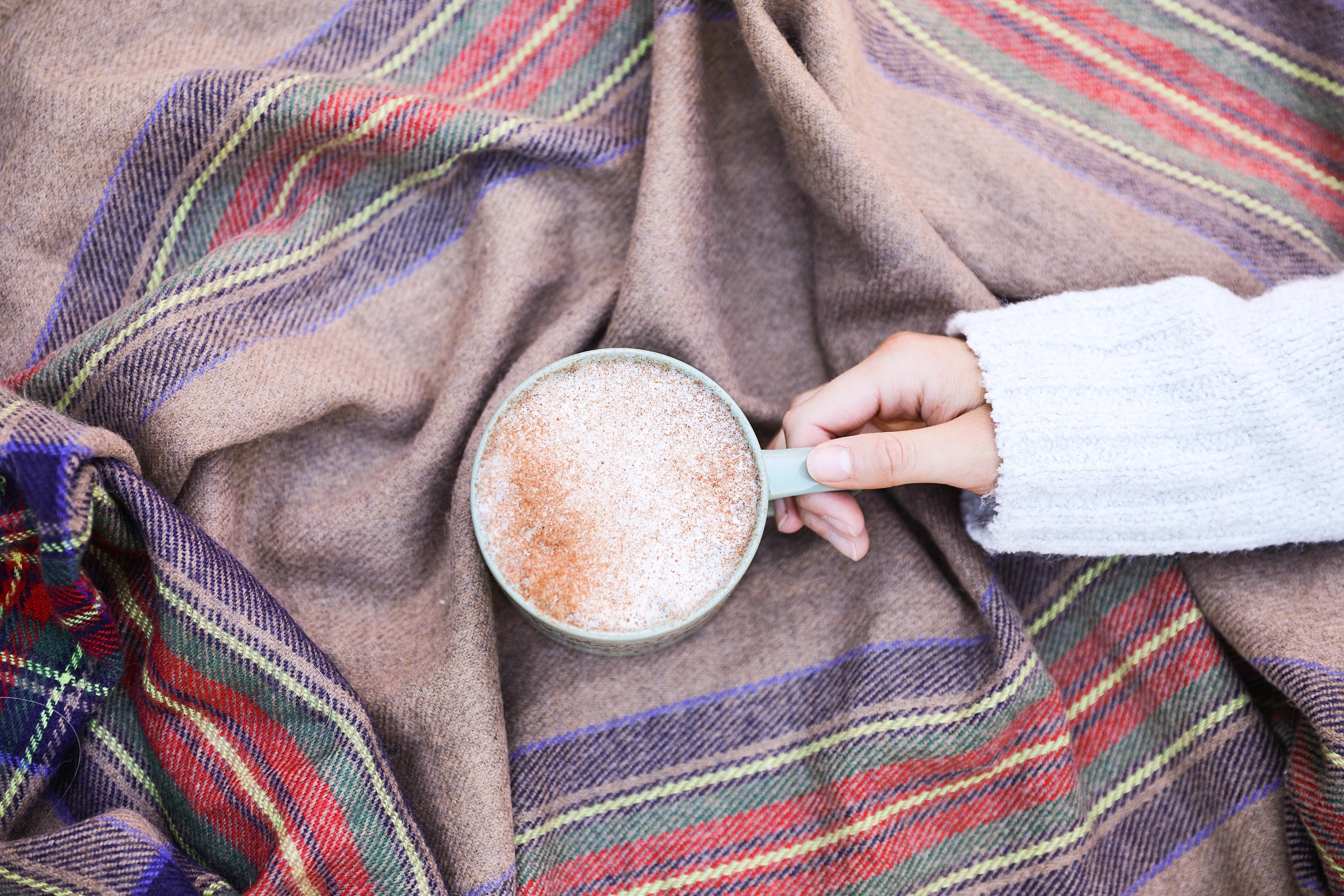 Blanket scarf and coffee mug fall inspiration photo 4P6A1694 copy