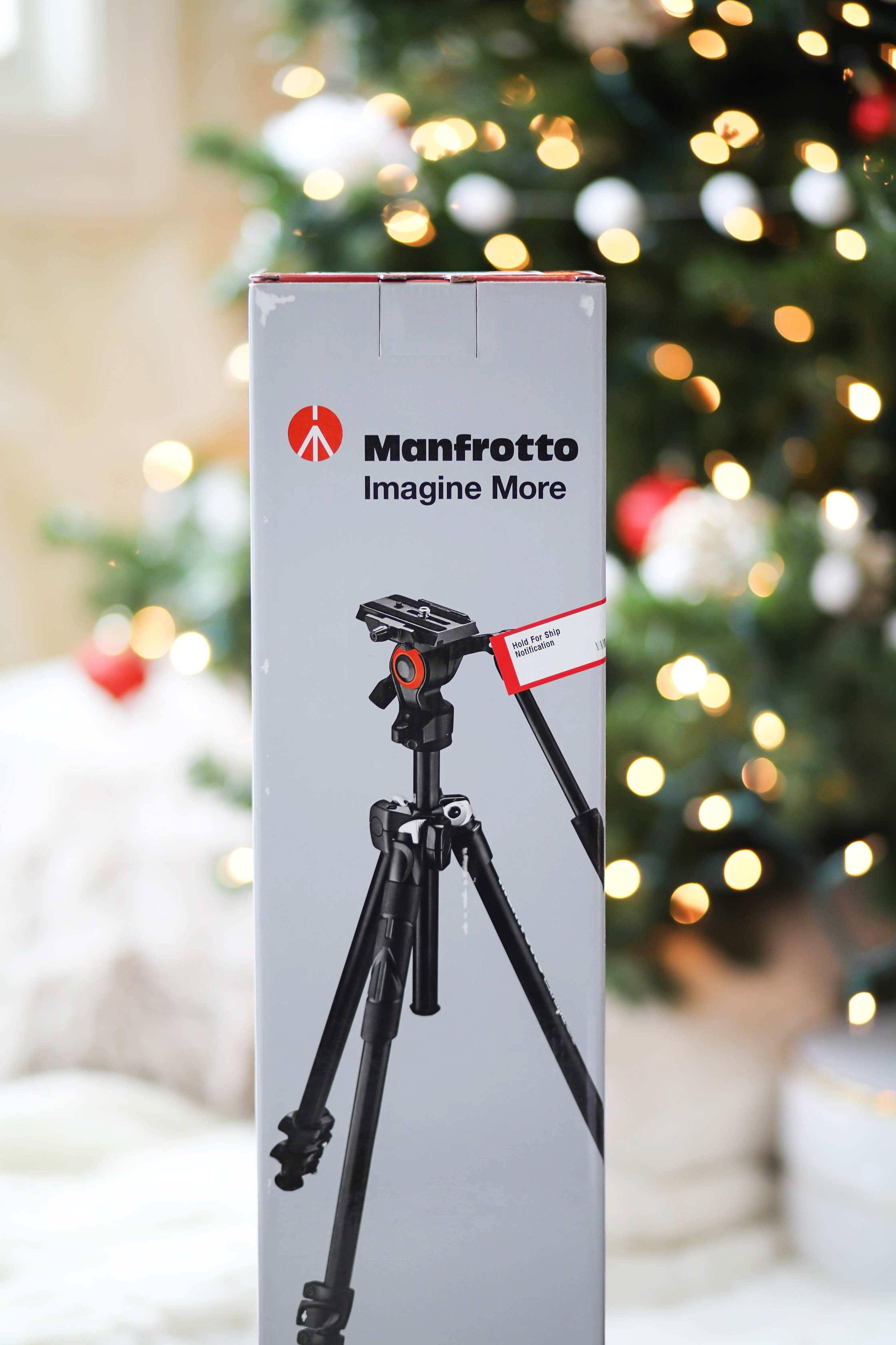 Manfrotto - 290 Tripod with Fluid Video Head - Black WHAT I GOT FOR CHRISTMAS 2017