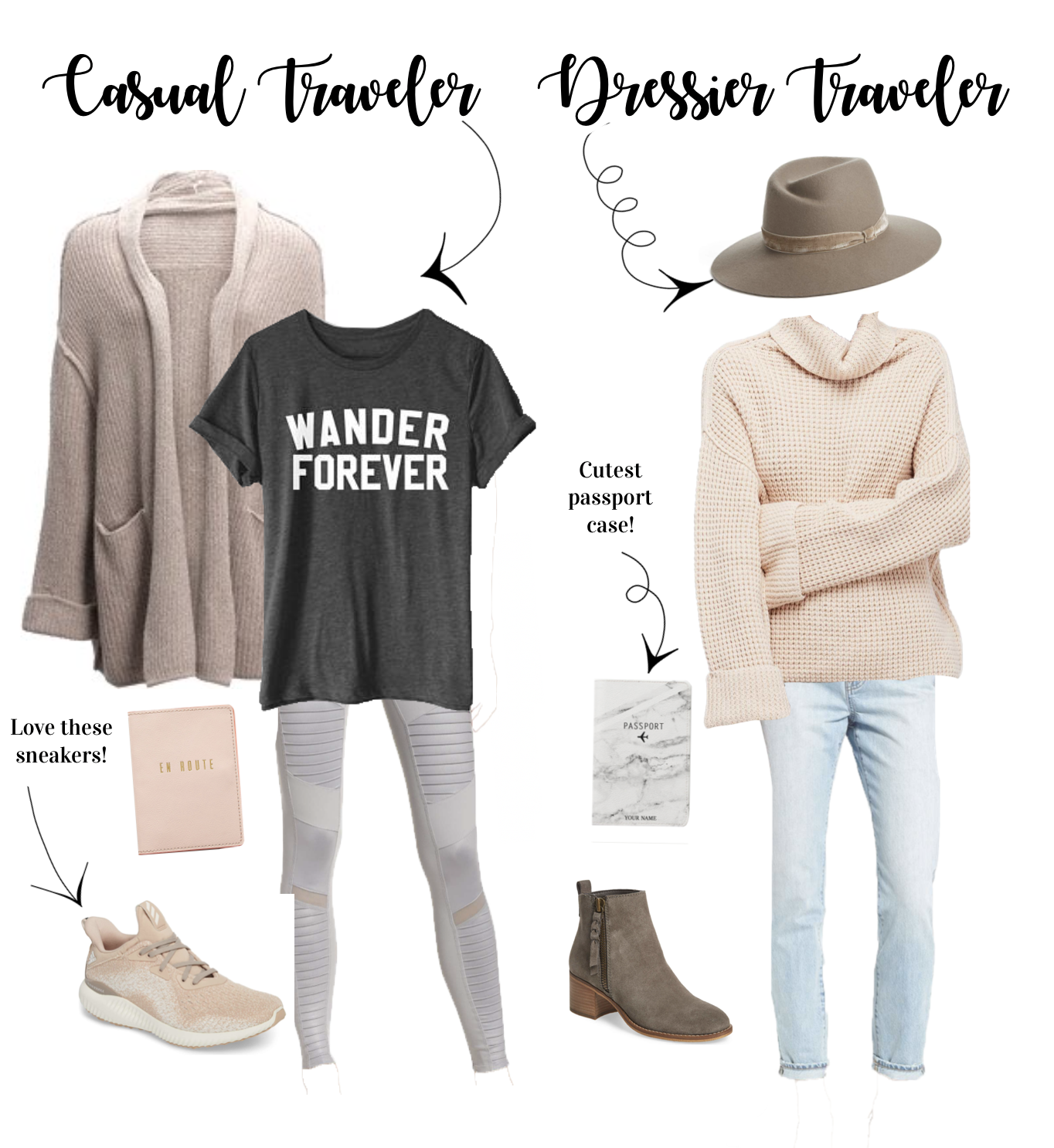 travel outfit airplane outfits by lauren Lindmark on daily dose of charm