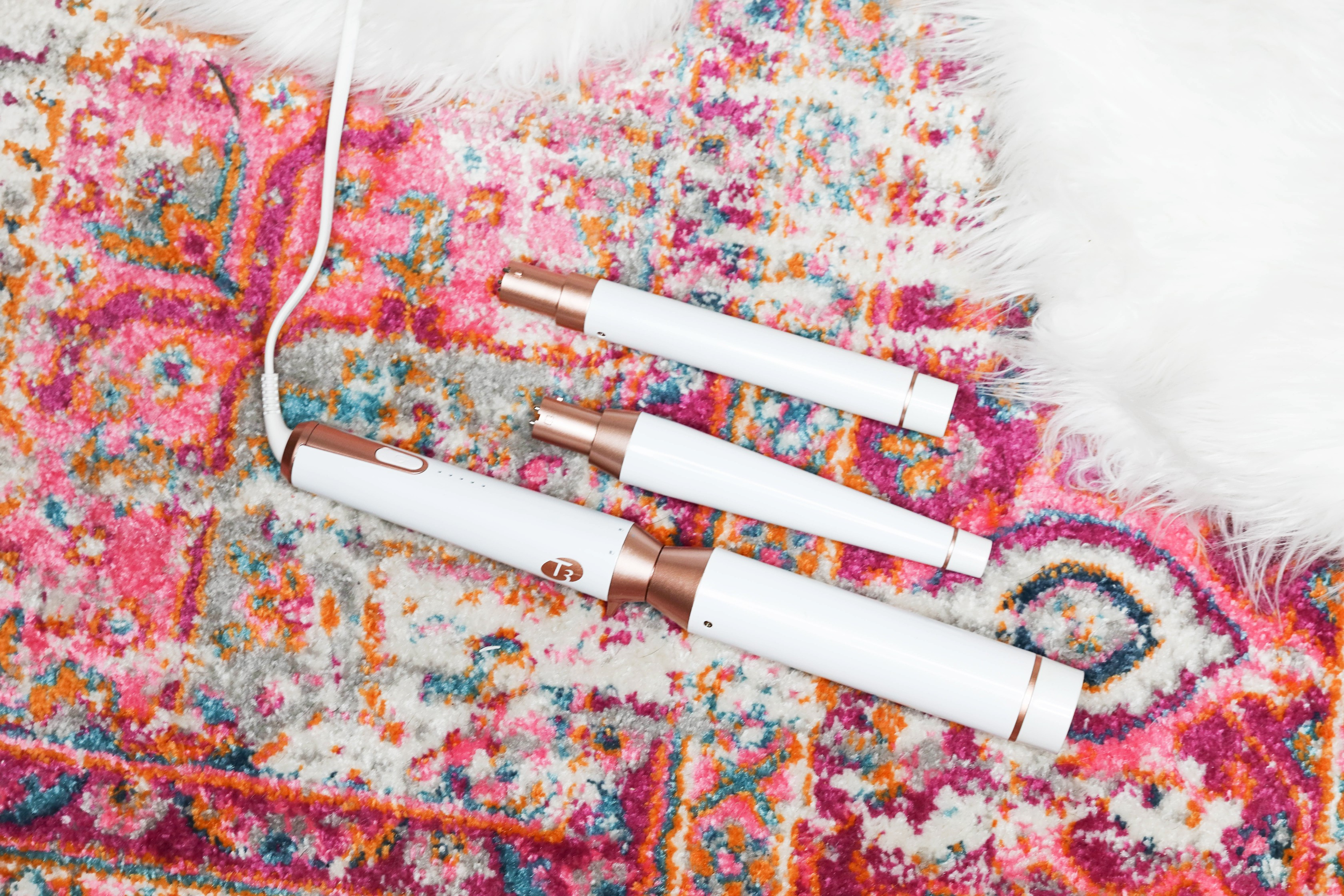 March beauty favorites t3 curling iron daily dose of charm by lauren lindmark