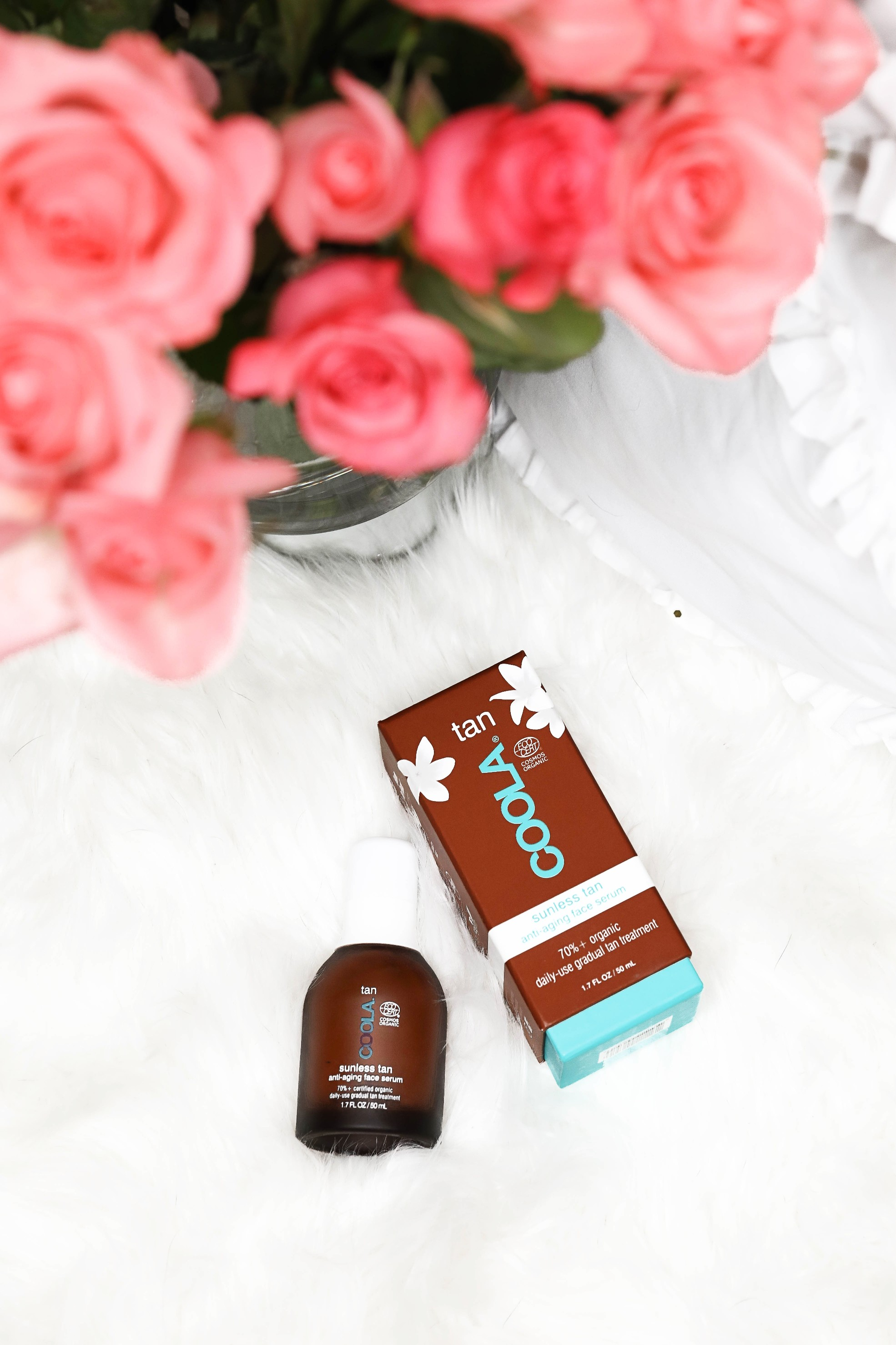 March beauty favorites coola face tanner daily dose of charm by lauren lindmark