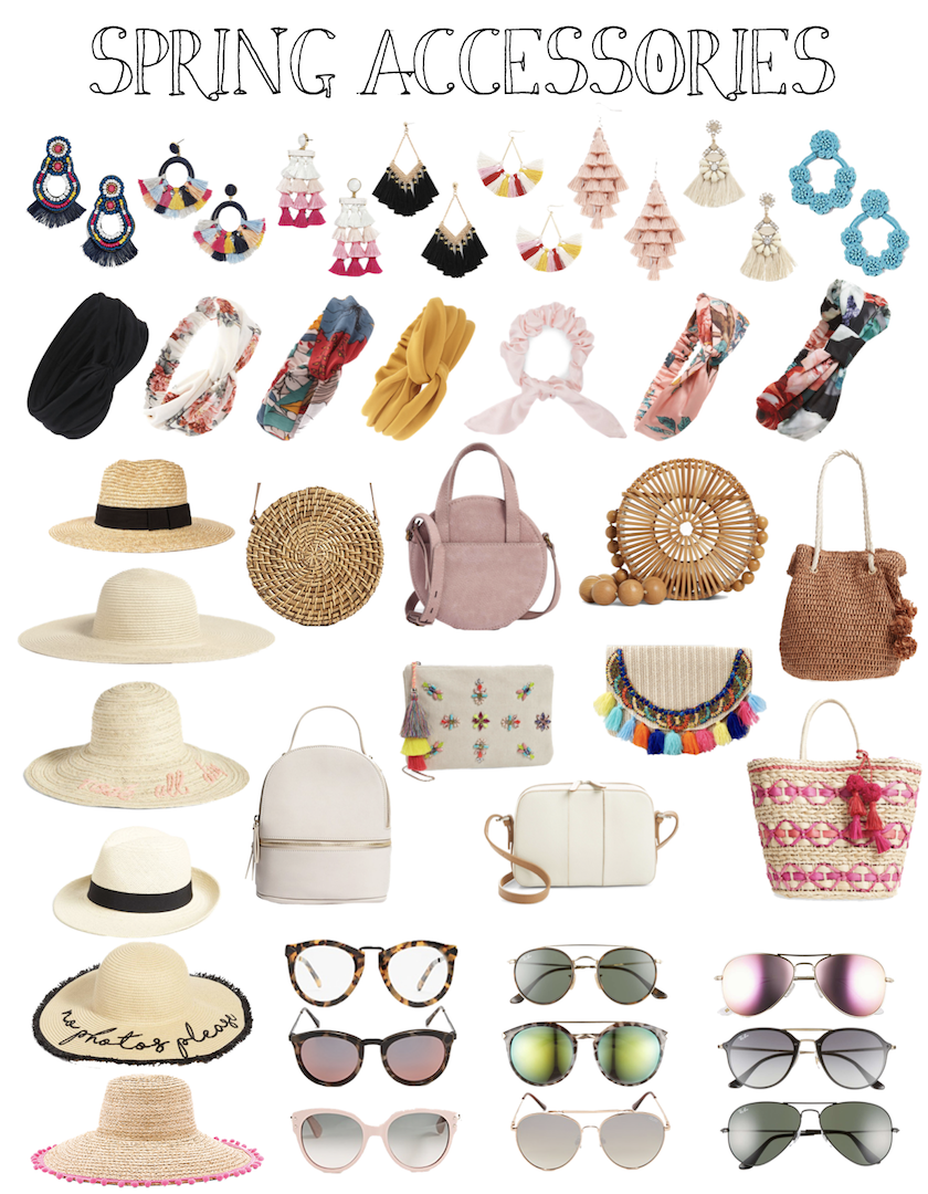 Spring Accessories I Am Eyeing!