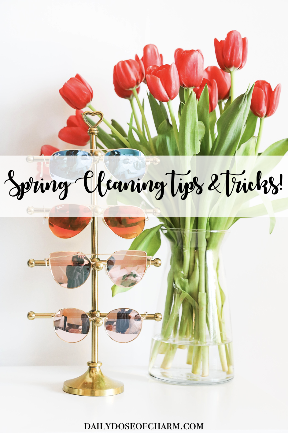 Spring cleaning tips and tricks plus cute storage roundup on fashion blog daily dose of charm by lauren lindmark