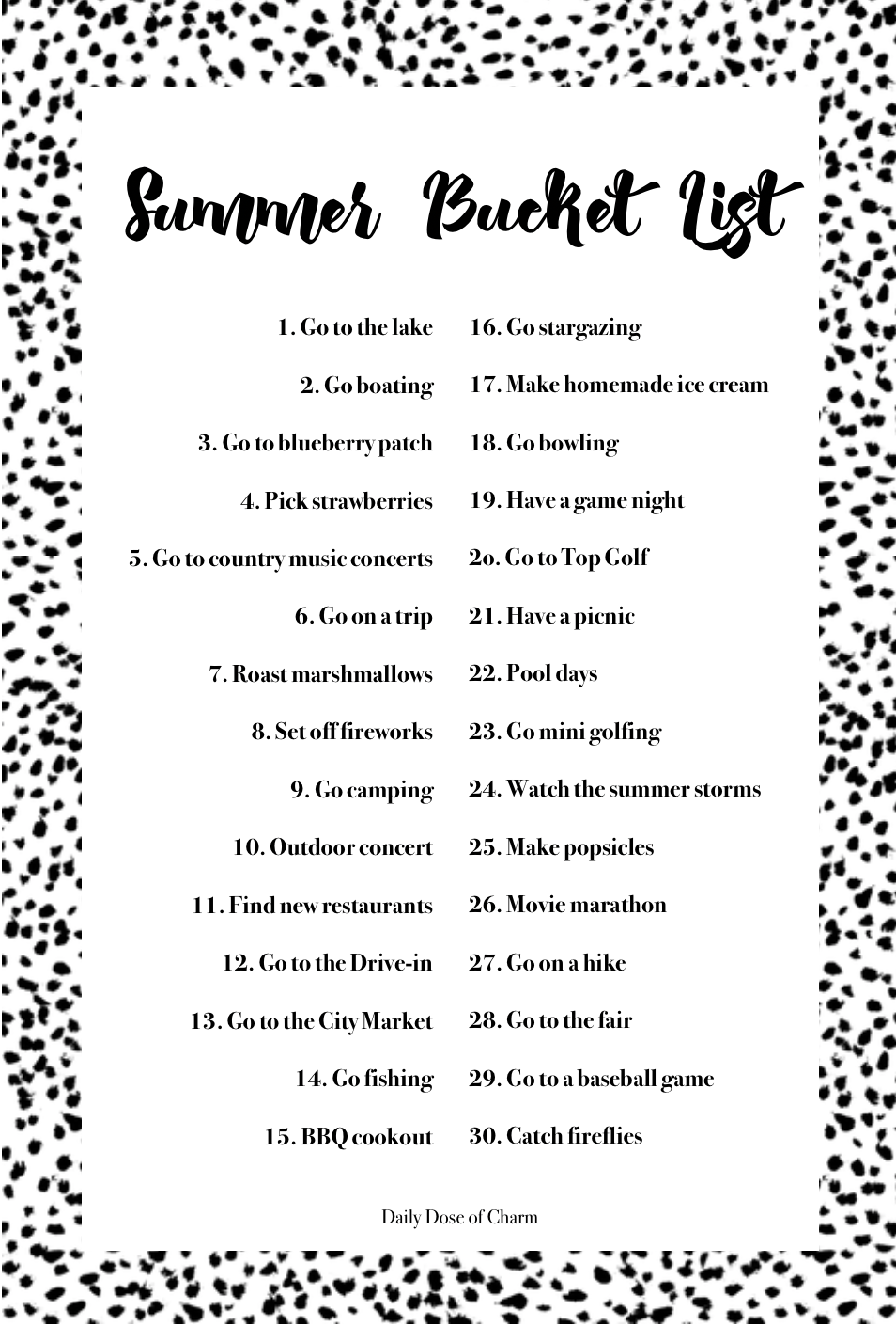 Summer bucket list summer activities summer ideas summer bucket list adults