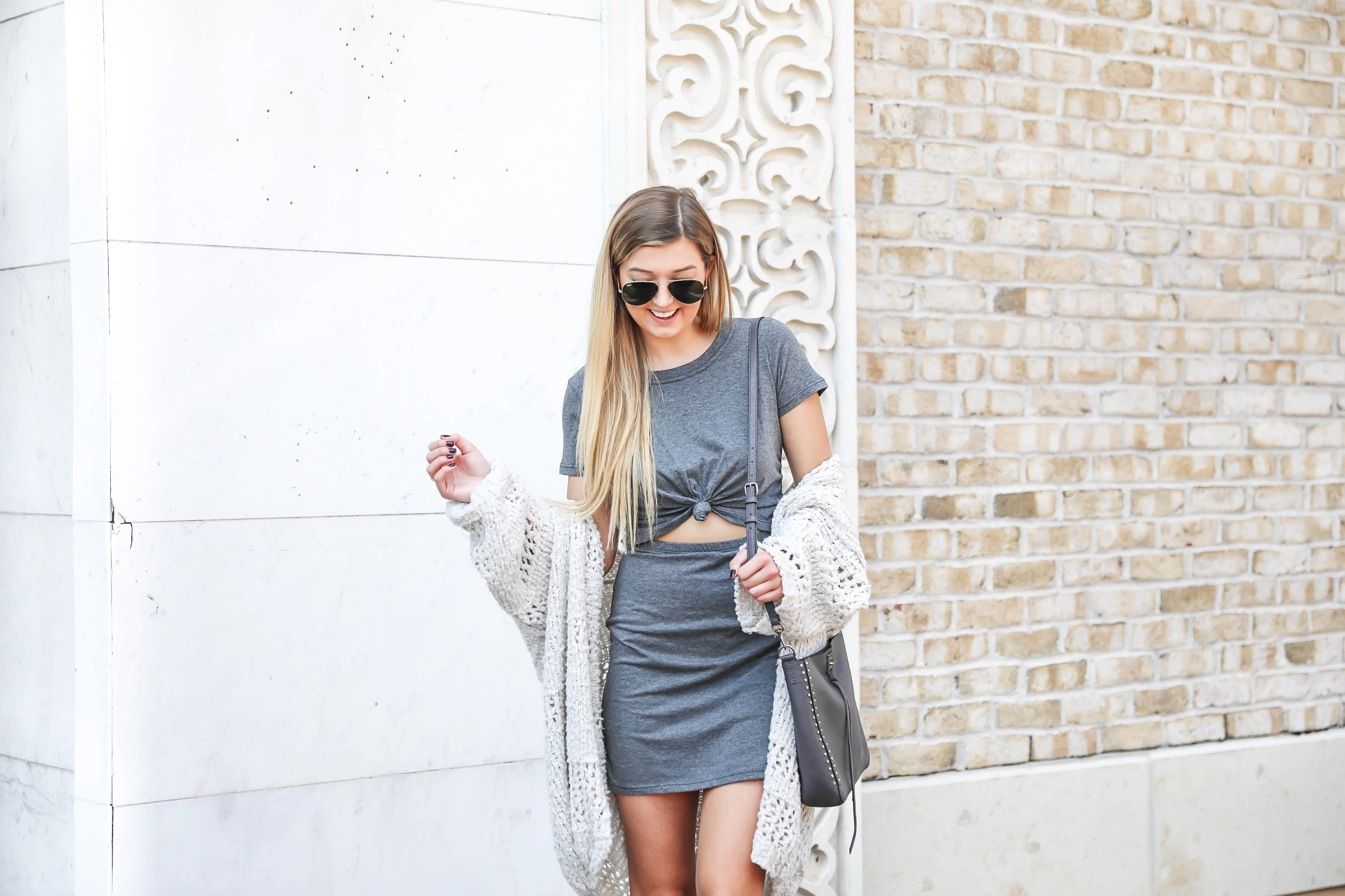 69b87d90661a Layering T-Shirt Dresses for Fall | OOTD + Roundup | Daily Dose of Charm