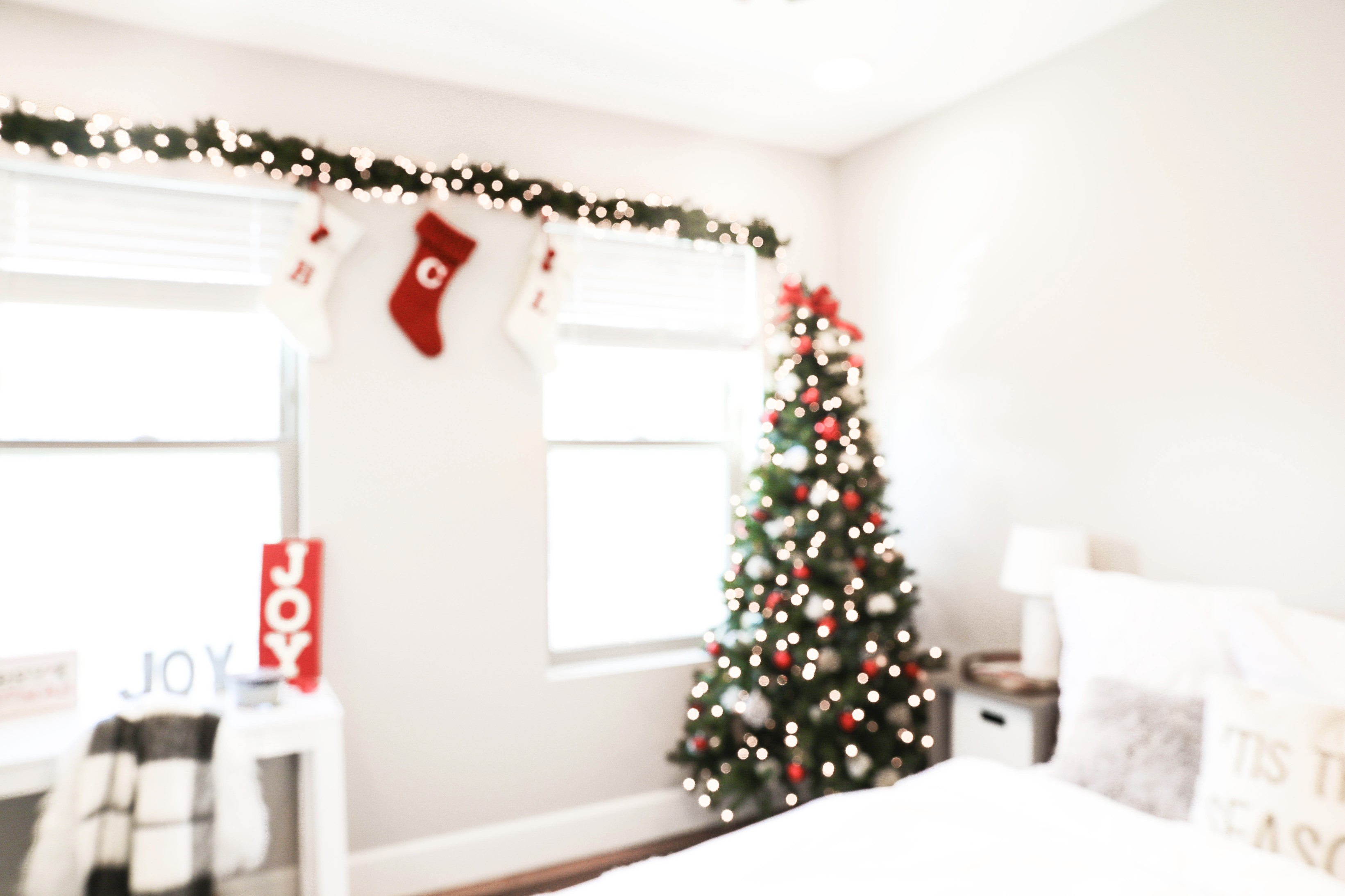 Decorate with Me for Christmas | VLOG + Room Tour | daily dose of charm