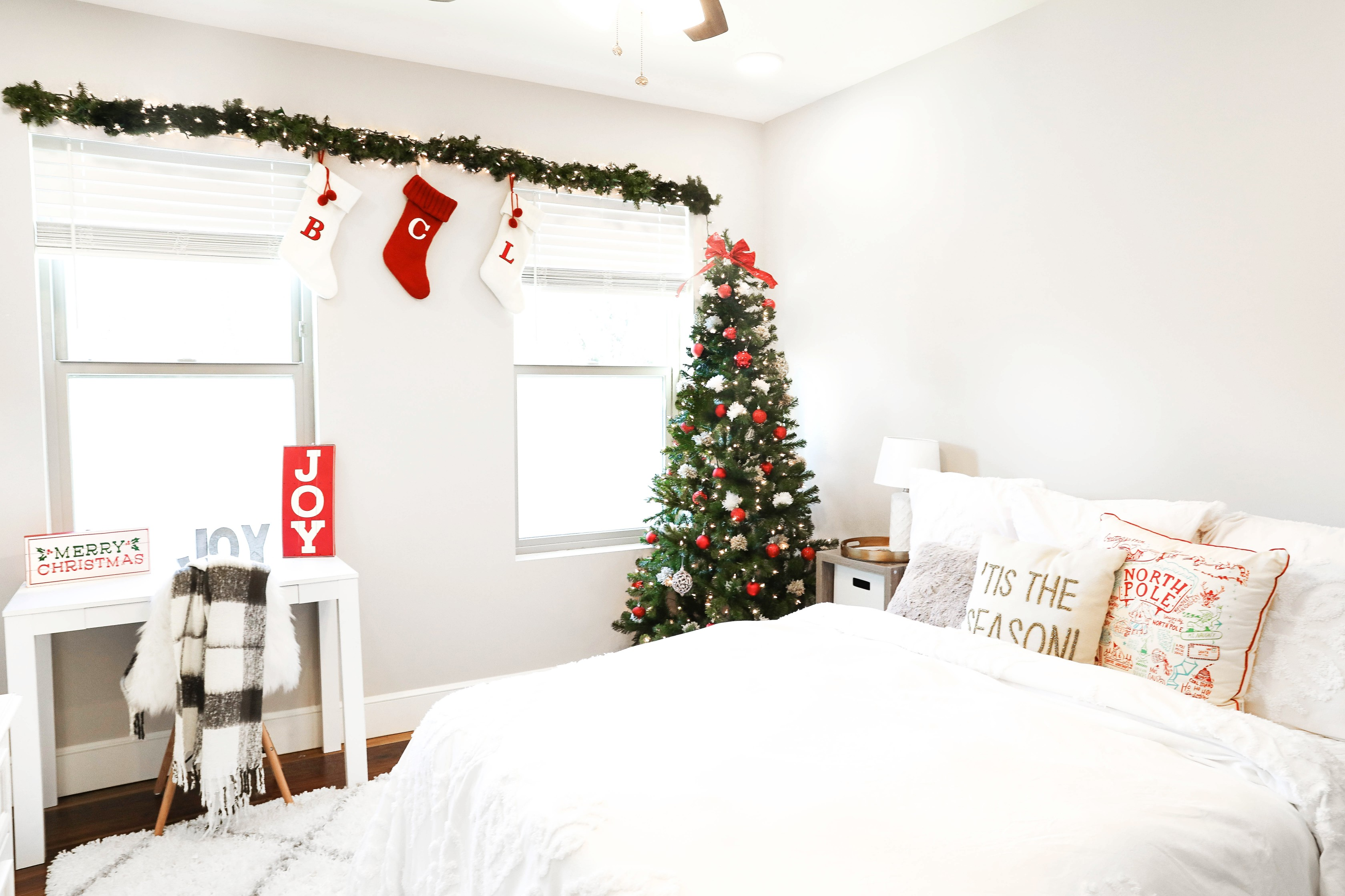 Decorate with Me for Christmas | VLOG + Room Tour | Daily ...