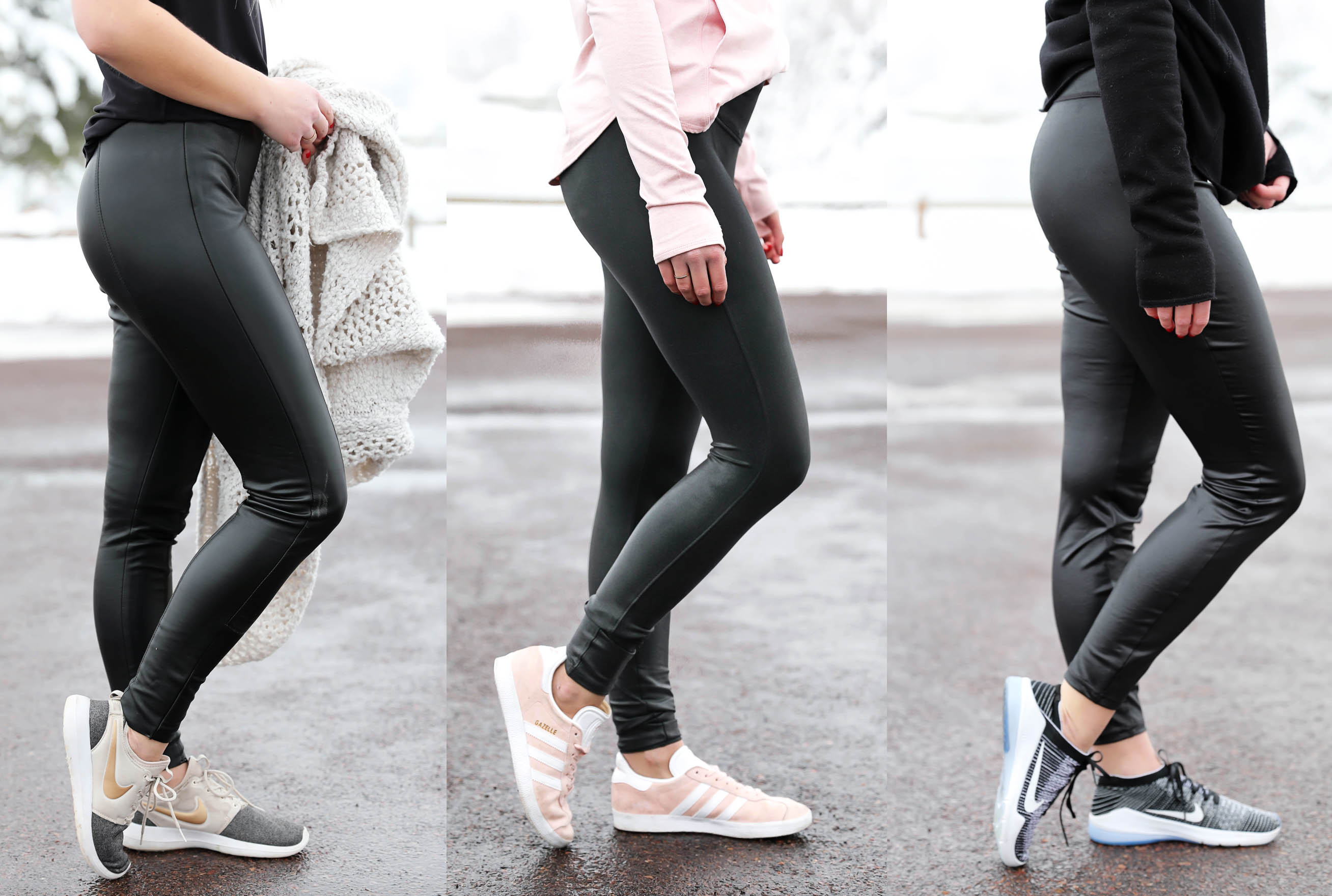 020fd5ad88120 Comparing Three Brands of Faux Leather Leggings | Which is Best?! OOTD