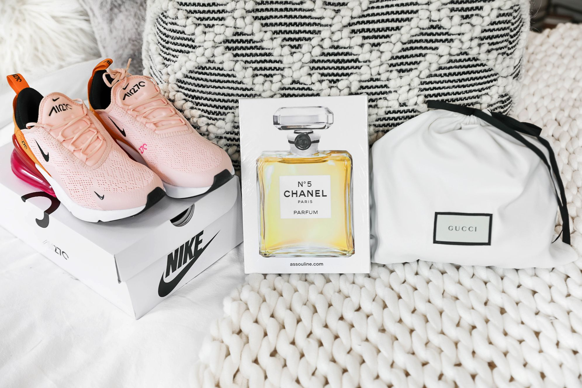 What I got for my 22nd birthday! A fun PRESENT HAUL including something Gucci! All detail on fashion blog daily dose of charm by lauren lindmark