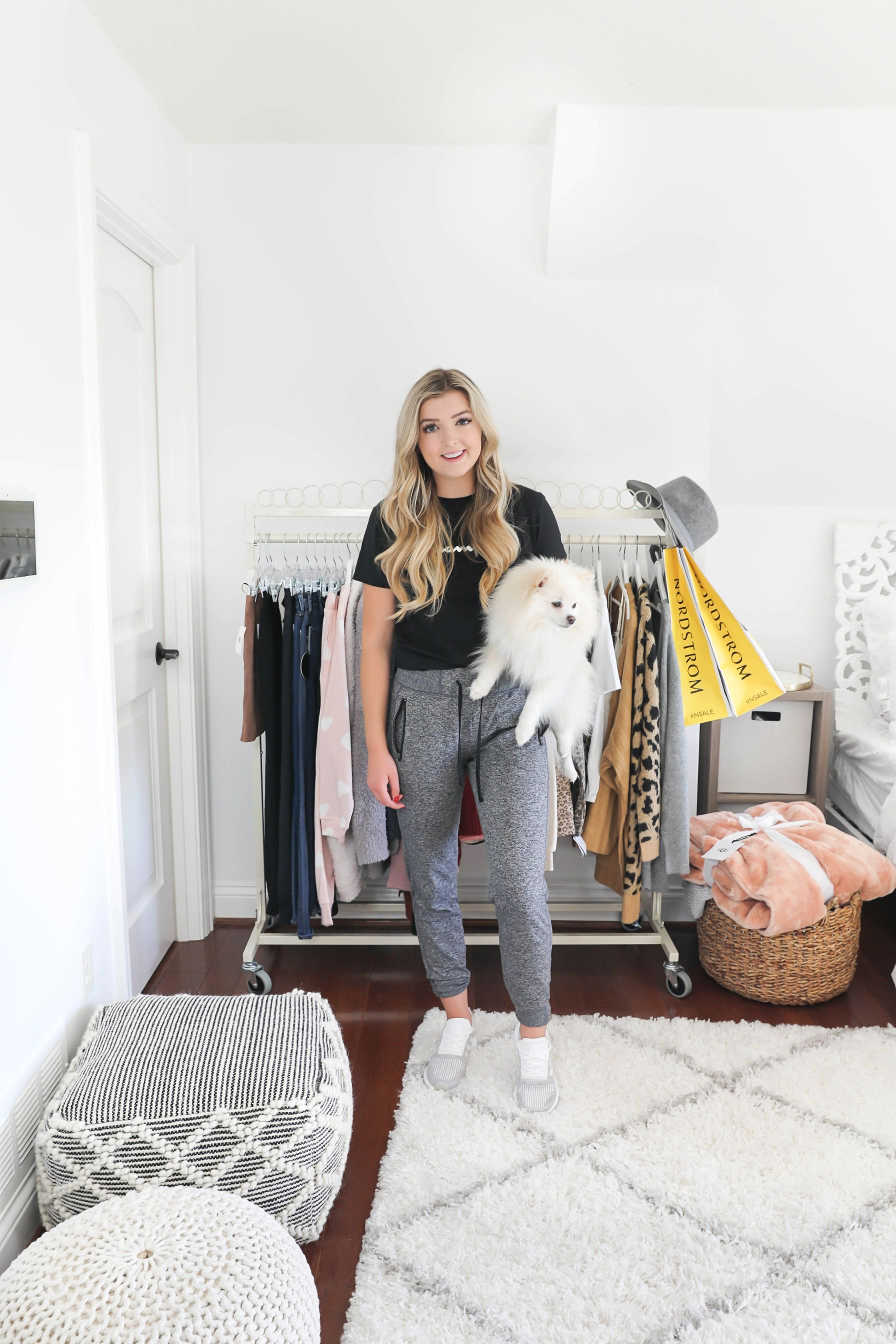 Nordstrom anniversary sale try on haul 2019 nsale sweaters pullovers shop with me vlog blogpost fashion blogger daily dose of charm lauren lindmark