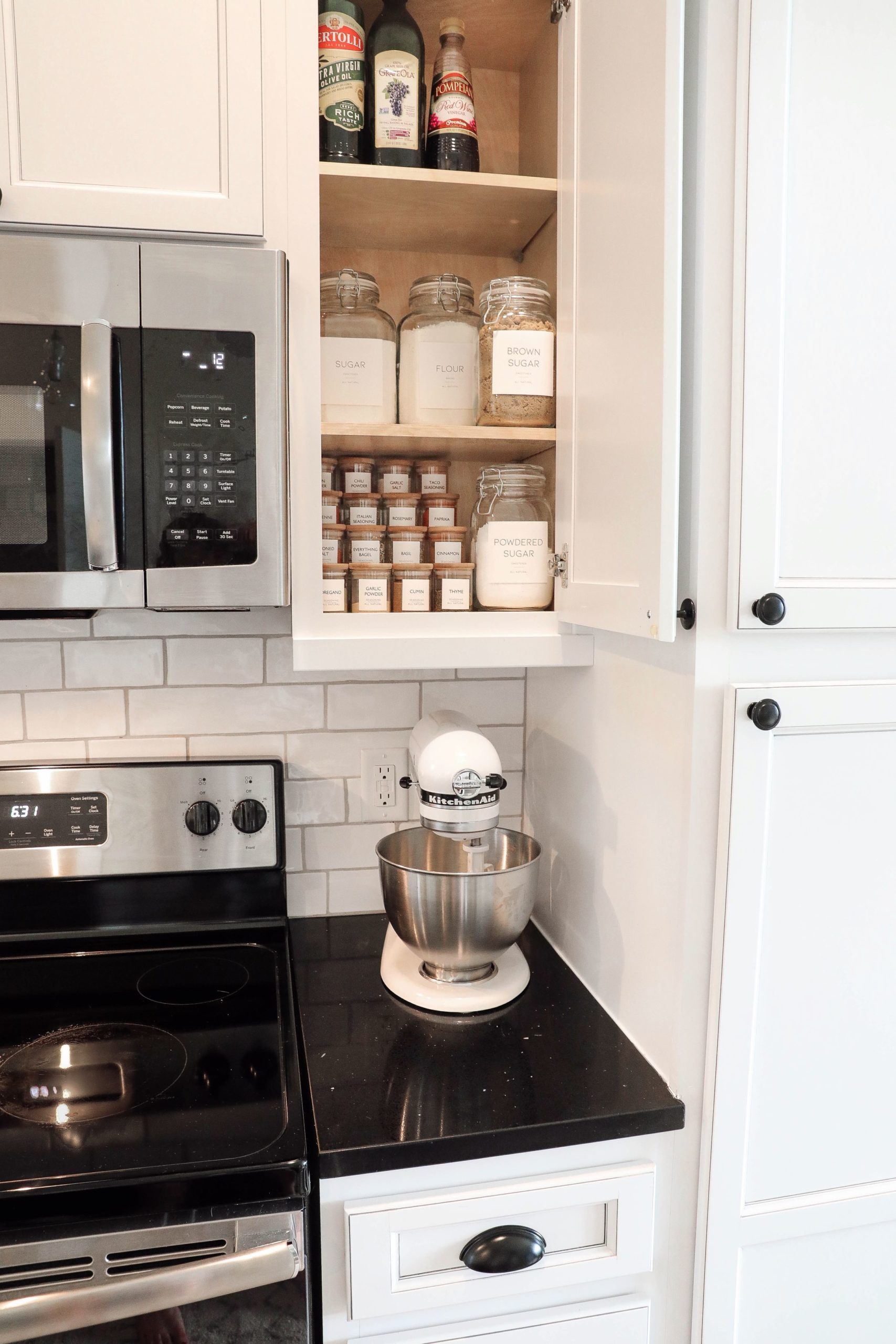 Organizing My Kitchen Cabinets Free Label Printouts For Your Kitchen Jars Daily Dose Of Charm