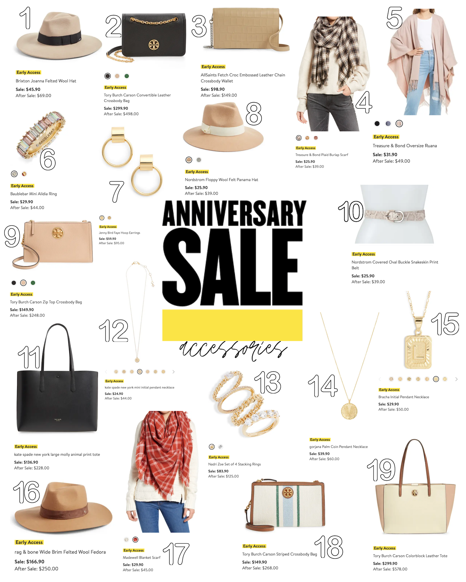 Nordstrom Sale 2021 Roundup The best Accessoris daily dose of charm nsale Lauren Emily Lindmark