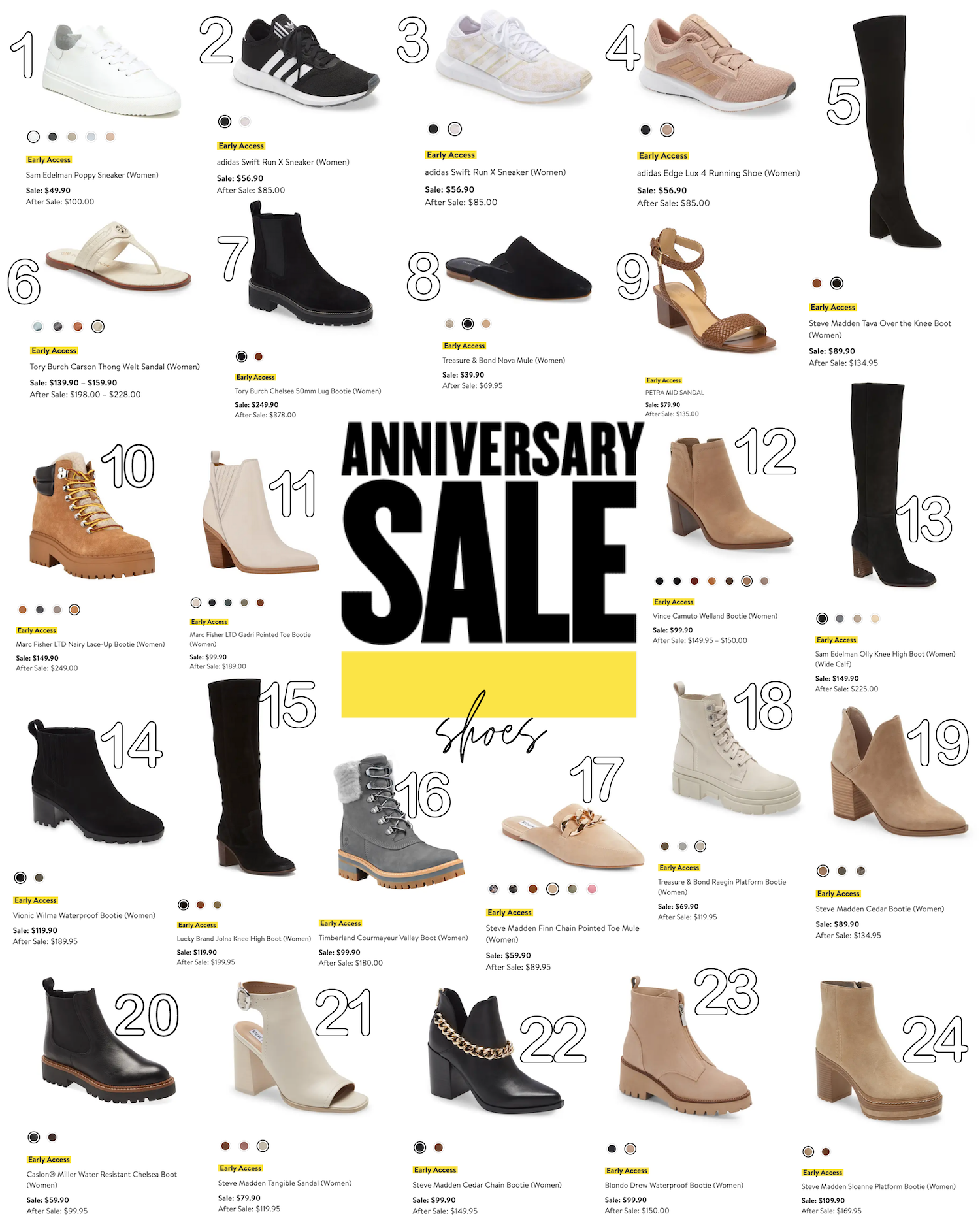 Nordstrom Sale 2021 Roundup The best Shoes daily dose of charm nsale Lauren Emily Lindmark